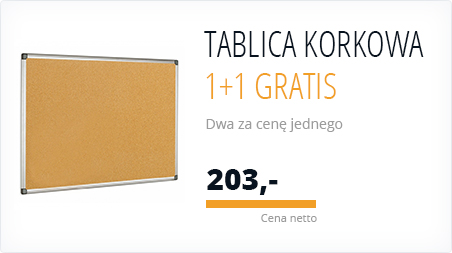 All - Tablica korkowa 1+1 Gratis - 777033 (HP)